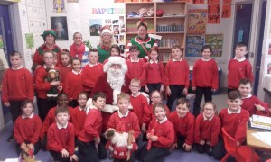 Santa in Second Class