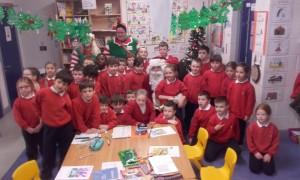 Santa in First Class