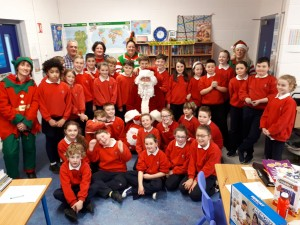 Santa in Fourth Class