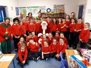 Santa in Fourth Class