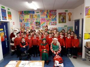 Santa in Third Class